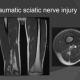 mri test shows Traumatic sciatic nerve injury